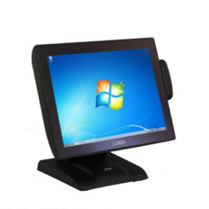 15 Inch Full Flat Capacitive Touch Screen Ordering POS Terminal