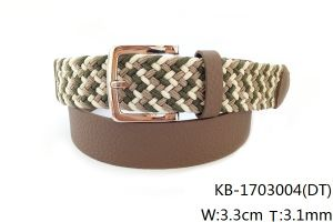 New Fashion PU Woven Belt (KB-1703004) pictures & photos