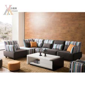Modern Stripe Fabric Sofa (803)