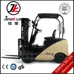 Factory Price 1.5 Ton Capacity Four Wheels Electric Forklift Truck pictures & photos