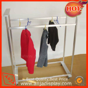 Stainless Steel Garment Display Rack pictures & photos