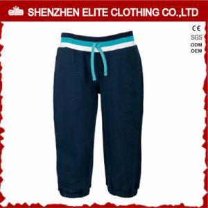 Wonder High Quality Navy Blue Yoga Pant Sweat Shots (ELTJI-12) pictures & photos