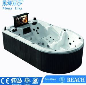 Monalisa Luxury Massage Acrylic Hot Tub SPA M-3361 pictures & photos