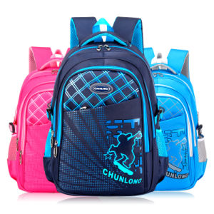 Water Resistant Nylon School Book Bag for Middle School pictures & photos