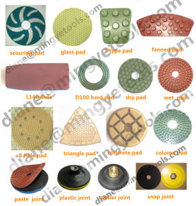 All Types Premium Grade Diamond Polishing Pad for Marble pictures & photos