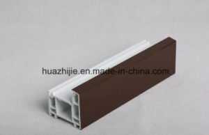 Huazhijie ASA-PVC Co-Extrusion PVC Co-Extruded Profiles pictures & photos