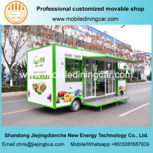 2017 New Style Electric Mobile Truck for Selling Vegetables and Fruits pictures & photos