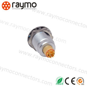 Video Camera Egg 1b 306 6 Pin Circular Connector Panel Socket pictures & photos