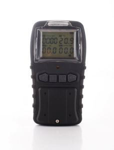 Shockproof Design Portable Multi (O2, CH4, CO, H2S) Gas Detector pictures & photos