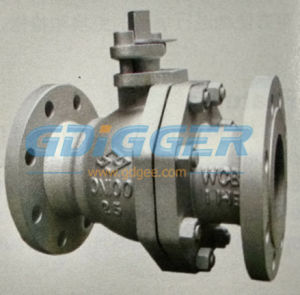 Q41f Carbon Steel Gas Ball Valve, Floating