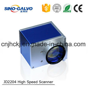 10mm Zero Drift Galvo Head Jd2204 for 20W Laser Makring/Laser Engraving/Laser Cutting pictures & photos