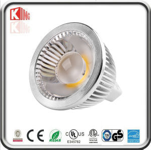 COB MR16 GU10 LED Spotlight Profile Aluminum UL ETL Energy Star SAA Rated Dimmable Nxp/Ti/St IC pictures & photos