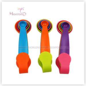 Kitchen Utensils 5 Pack Colorful Measuring Spoon pictures & photos
