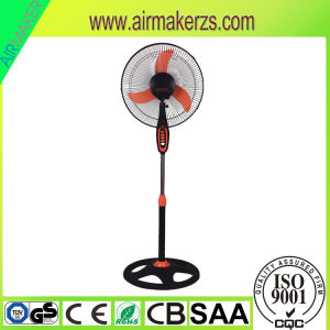 Fashionable Plastic Stand Fan 16 South America with Low Noise pictures & photos