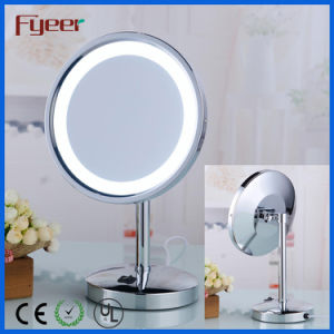 Fyeer 8 Inch Single Side Round Makeup LED Table Mirror pictures & photos