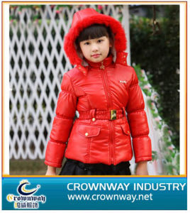 Red Warm Down Jacket for Teen Girl pictures & photos