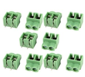 5mm 2 Pin 2 Position PCB Screw Terminal Blocks 300V 16A pictures & photos