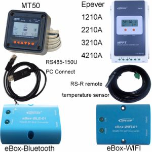 Epever 30A MPPT 24V/12V LCD Solar Charger Controller Tr3210A pictures & photos