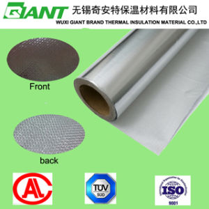 Aluminum Foil Coated Fiberglass Cloth for Insulation Material pictures & photos