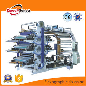 Plastic Bag/Film/Paper Flexographic Printing Machine pictures & photos