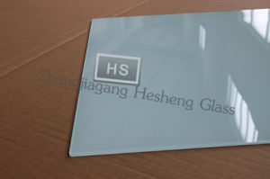 5mm Square White Tempered Glass for Table Top pictures & photos