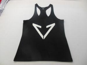 Y Back Tank Tops for Men 100% Cotton Bodybuilding Stringer pictures & photos