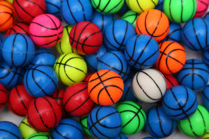 This Is a Pattern of Basketball Elastic Ball/Bouncy Ball
