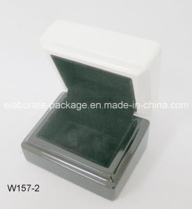 Manufacturer Customized Wooden Jewelry Gift Box Two Colors Available pictures & photos