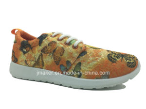 Women New Fabric Running Sneaker (J2285-L) pictures & photos