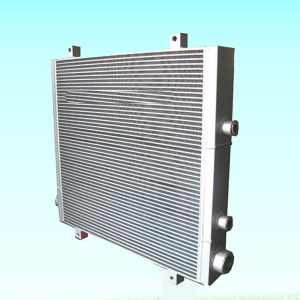 Air Compressor Parts Oil Radiator Heat Exchanger Fan Water Cooler pictures & photos