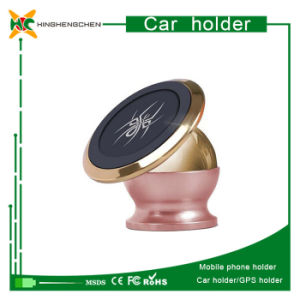 Metal Universal Magnetic 360 Degree Rotatable Car Phone Holder pictures & photos