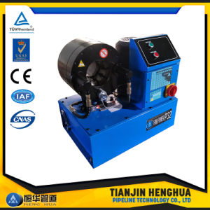 Hydraulic Pipe Cable P32 Hose Crimping Machine in China pictures & photos