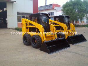 Jc95 with Ce 1.2ton 70kw 0.55m3 Skid Steer Mini Loader pictures & photos