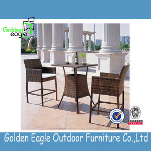 Rattan Bar Table & Chair Outdoor Dining Set Sets