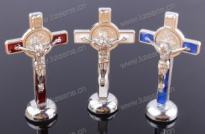 Religious Alloy Jesus Statue, Religious Cross Statue Gifts pictures & photos