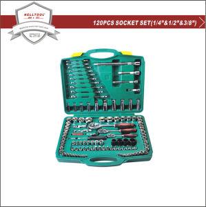 Chrome Vanadium Steel Wrench Tool Kits 120-PCS