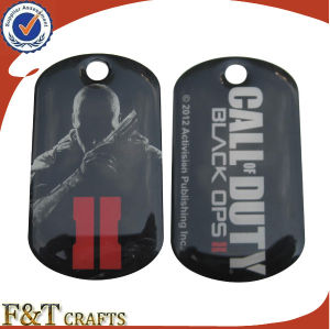 Promotional Gift Item Cheap Personalized Printing Metal Dog Tag (FTDT2026A) pictures & photos