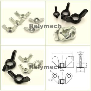 Stainless Steel/Carbon Steel/Brass/Metric/Inch Wing Nut/Butterfly Nutmetric/Inch Wing Nut/Butterfly Nut---Ss201, Ss304, Ss316, Carbon Steel, Brass pictures & photos