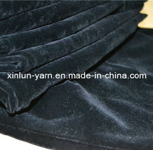 100%Polyester Plain Flocking Knitted Upholstery Waterproof Fabric pictures & photos