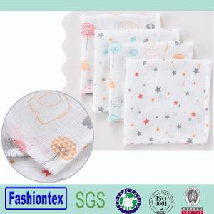 100 Cotton Muslin Toddler Face Towel Handkerchiefs Baby pictures & photos