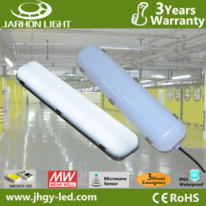 0.6m 20W Meanwell CE RoHS Certificates Tri-Proof LED Emergency Light for Parking Lot Lighting