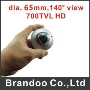 Mini Size Car HD Camera, Metal Housing, 6.5cm Diameter, Used for Bus and Taxi pictures & photos