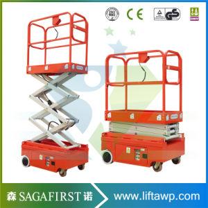 Skyjack Scissor Lift Electric Mini Scissor Lift Table Electro-Hydraulic Scissor Lift pictures & photos