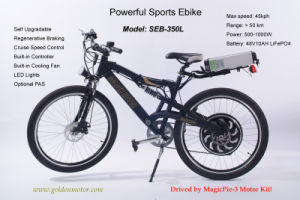 "CE Approved! 48V 1500W ""E Bicycle"" with Magic Pie 5 Hub Motor, Electric Bicycle Motor 24V -48V 250W /1000W pictures & photos"