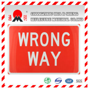 Green Engineering Grade Reflective Sheeting for Traffic Sign pictures & photos