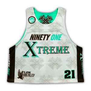 Custom Design Team Man Reversible Sublimation Lacrosse Uniform Jerseys pictures & photos