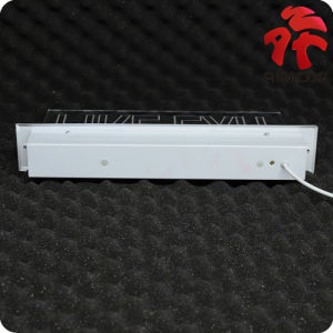 LED Emergency Exit Sign with Recessed Installation pictures & photos