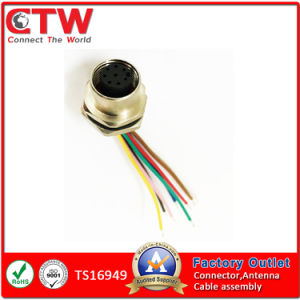 M12 Panel Cable Assembly pictures & photos