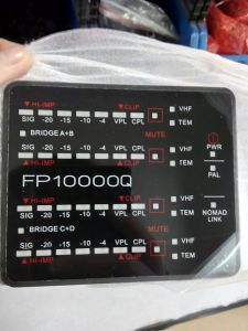 4 Channel Switch Mode Fp10000 Power Amplifier pictures & photos