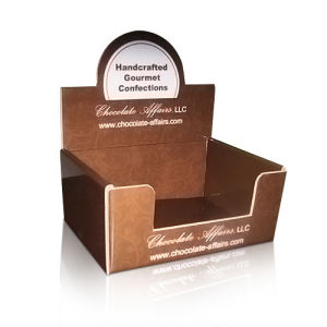 Hard Corrugated Paper Display Box for Towels, POS Display Box pictures & photos